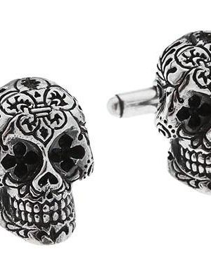 4147af81b King Baby Studio Day of The Dead Cuff-Links #accessories #jewelry #cufflinks