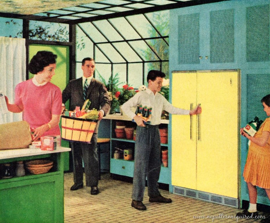 Vintage Better Homes Gardens Kitchen | Five Fantastic 1950u0027s Kitchens From  Vintage Advertisements | No ... | Vintage Kitchens | Pinterest | Vintage  Kitchen, ...