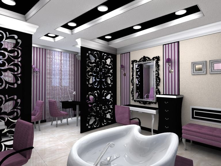 High Quality Beauty Salon Interior Design | Find Home Designer