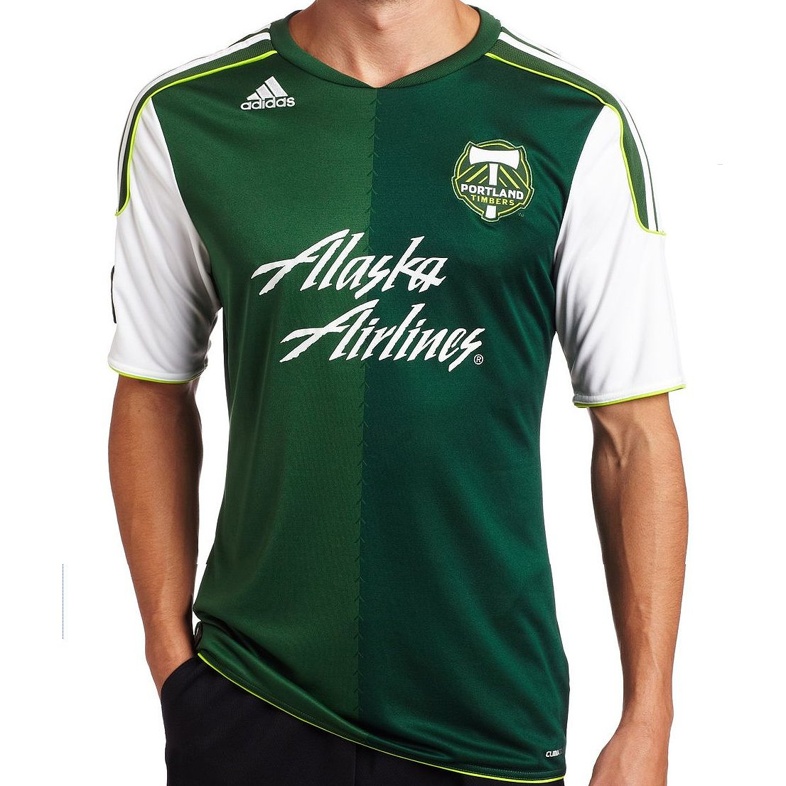online store 5bad6 aeca3 MLS Portland Timbers Authentic Primary Team Jersey: Adidas ...
