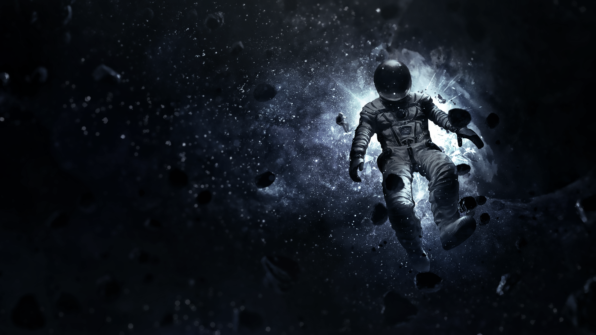 Imgur The Most Awesome Images On The Internet Astronaut Wallpaper Space Painting Space Artwork