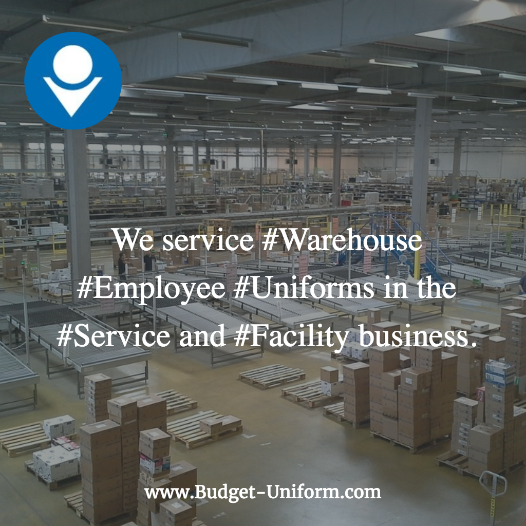We service Warehouse Employee Uniforms in the Service