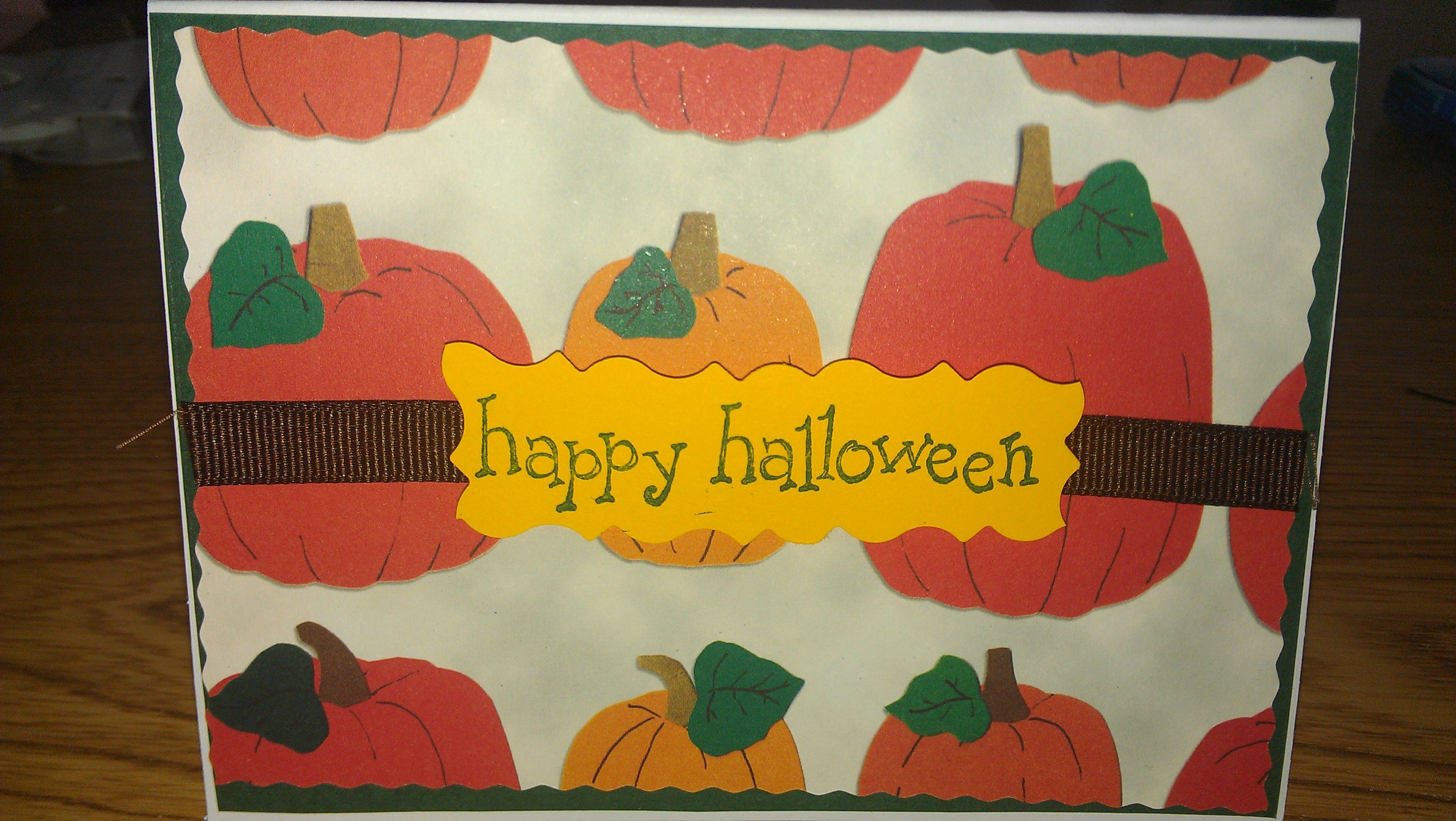 operation write home (cards made for soldiers)-halloween card