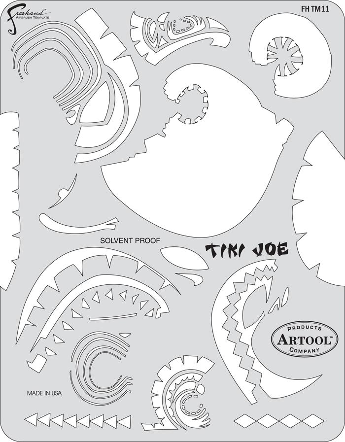 FHTM11-Tiki-Joe-large.png (700×897) | Auto Graphics, pinstriping ...