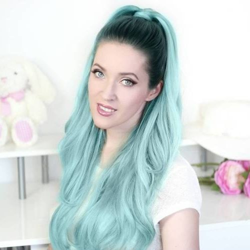 43 Gorgeous Turquoise Hair Color Ideas in 2020