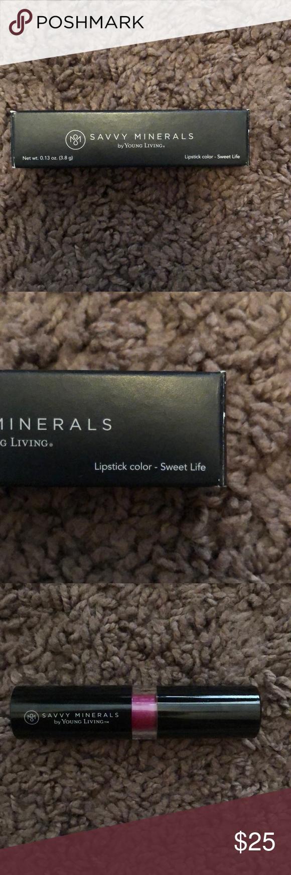 Photo of NWT! Savvy Minerals Sweet Life Lipstick BRAND NEW IN THE BOX! Savvy Minerals Ta …