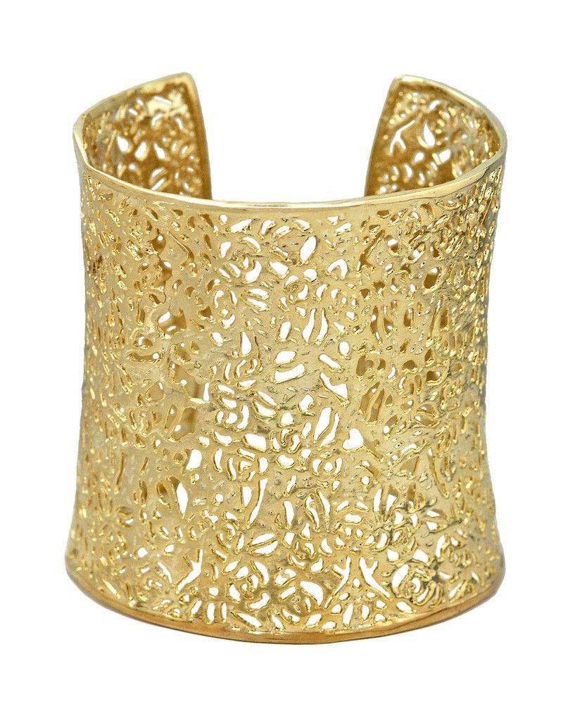 ainsley cuff bracelet in gold kendra scott jewelry