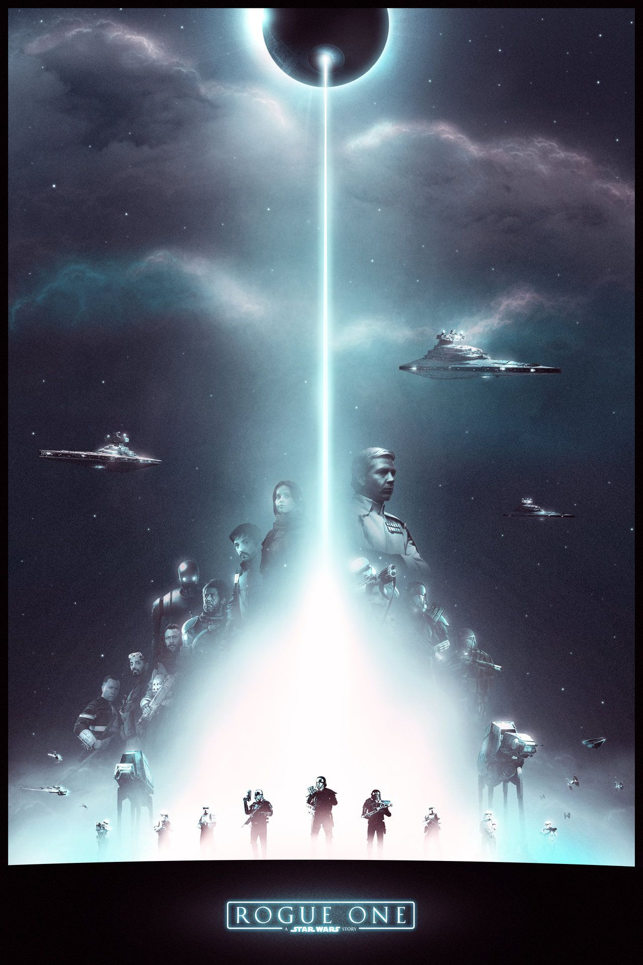 Rogue One By Noble 6 On Deviantart Star Wars Poster Star Wars