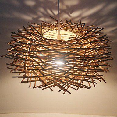 Jj led modernes plafonniers 30cm lampe de plafond moderne for Plafonnier osier