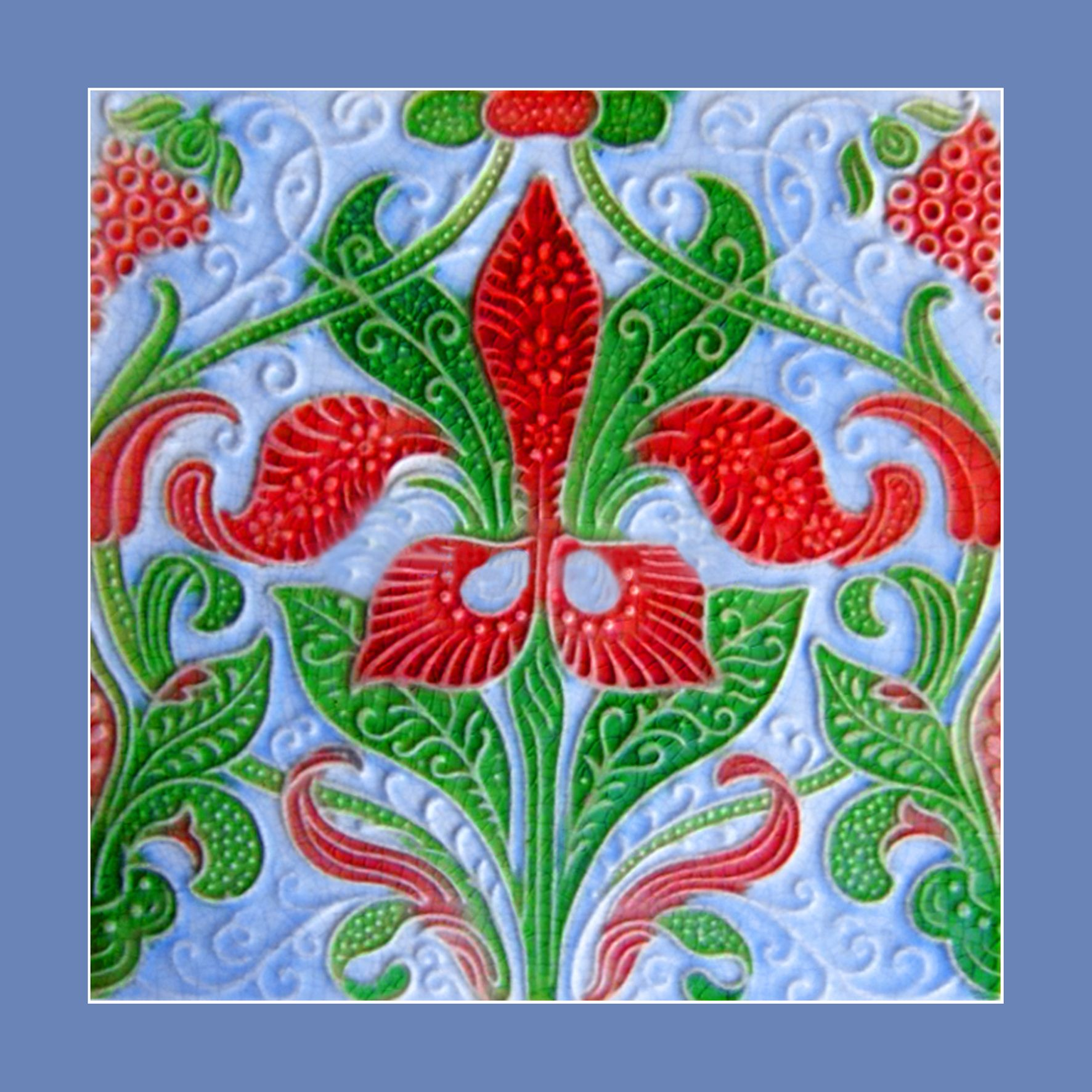 16 ceramic tile design by lewis day for pilkington buy as an e 16 ceramic tile design by lewis day for pilkington buy as an e card vintage tileart nouveau dailygadgetfo Images