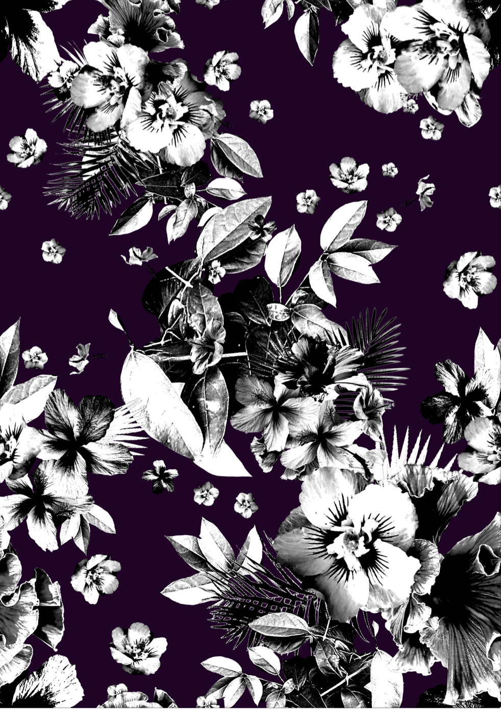 Dark Tropics Print project on Behance