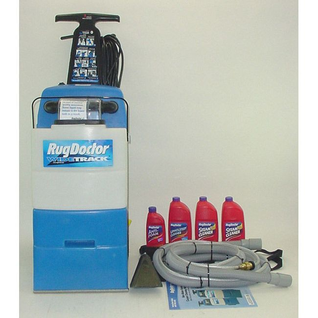 Superb Rug Doctor Wide Track Carpet Extractor Shampooer