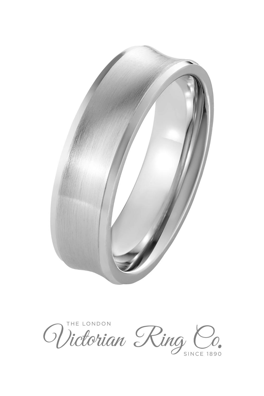 6mm Concave Wedding Band In Platinum Hatton Garden Wedding Rings In 2020 Unusual Mens Wedding Rings Mens Wedding Rings Mens Wedding Bands Platinum