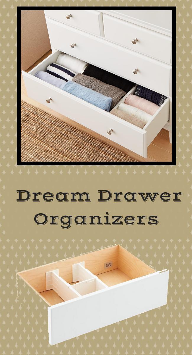 4 Dream Drawer Organizers Drawer Organizers Organization Drawers