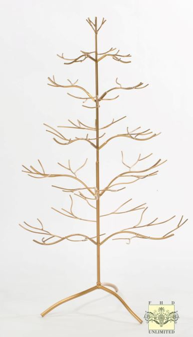 Ornament Display Tree Silver Or Gold Natural 36 Ornament Display Trees Ornament Tree Display Metal Ornament Tree Ornament Display