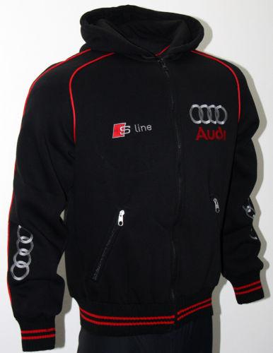 Audi S line Jacket quattro polar fleece Coat Veste Parka S3