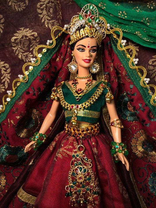 barbie hindu | Dolls in 2019 | Dolls, Barbie clothes ...
