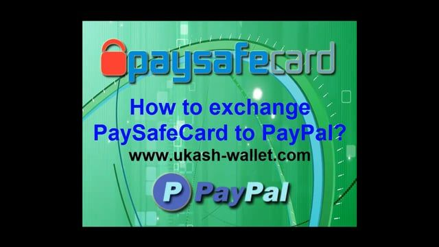 Exchange Paysafecard voucher to PayPal. Recharge PayPal account via  Paysafecard instantly. TUTORIAL.