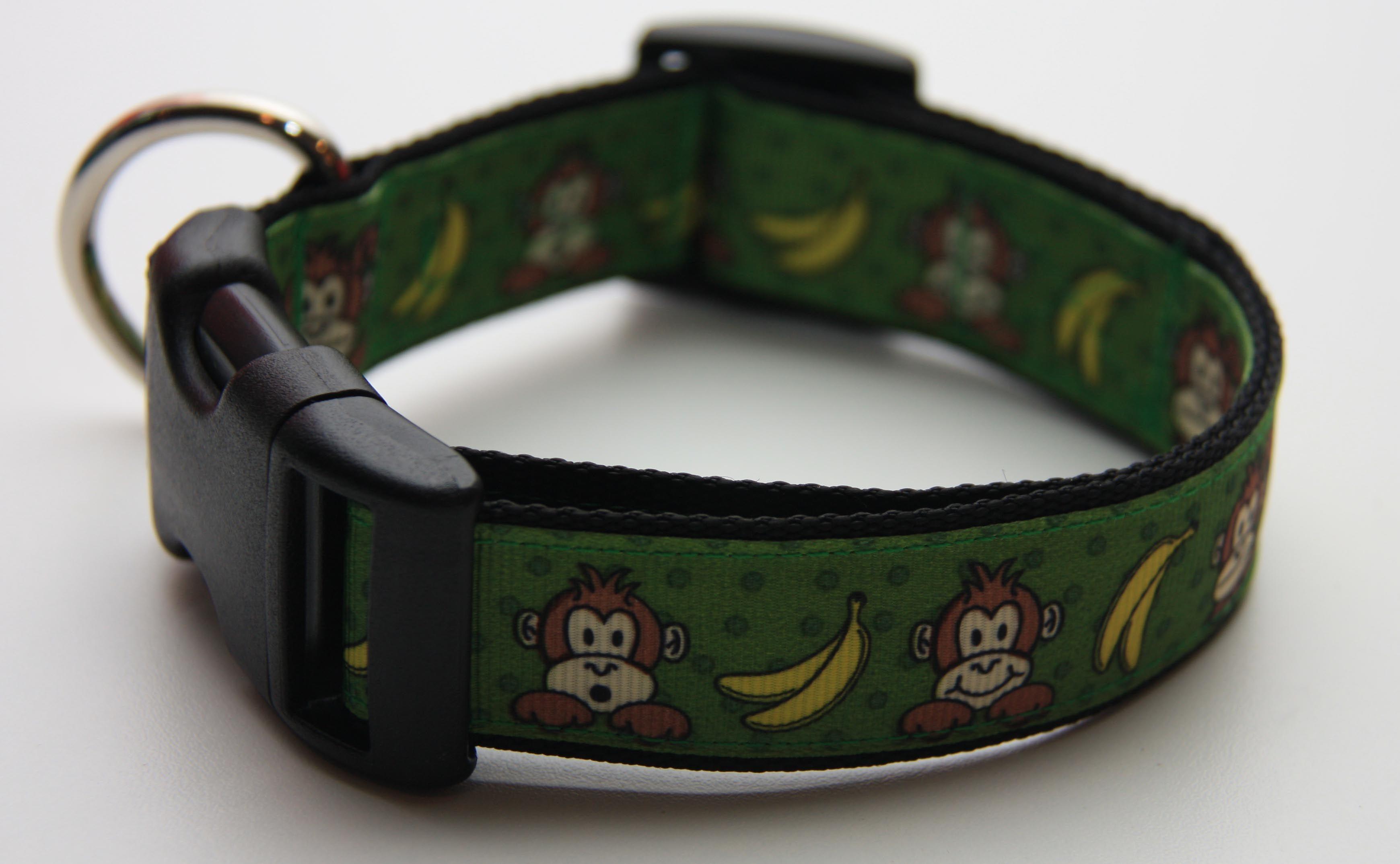 Green monkey 1 dog collar 1500 find bonzai gifts on