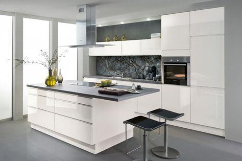Fotos de cocinas blancas buscar con google ana soriano for Cocinas integrales blancas modernas
