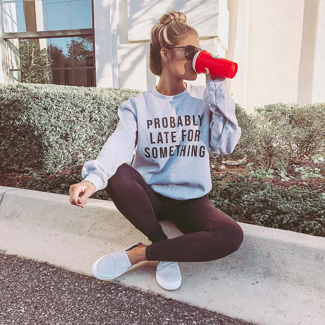 """Kristin Coffey Pressley on Instagram: """"on a scale to 1-10, how true is this sweatshirt — 13/10"""