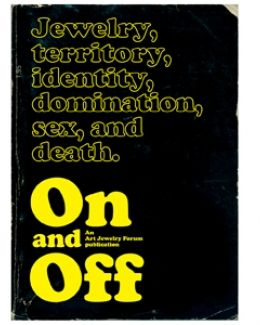On and Off: Jewelry in the Wider Cultural Field / an Art
