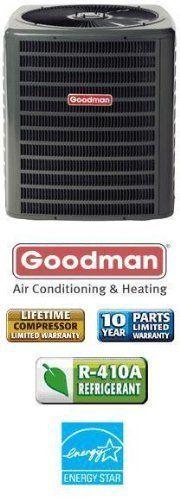 3 Ton 14 Seer Goodman Heat Pump - SSZ140361 by Goodman