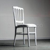 Location Chaise Napoleon 3 Blanche Chaises De Mariage Mobilier Table Et