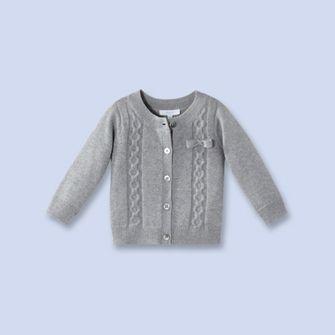 Layette Girls Knit Cardigan