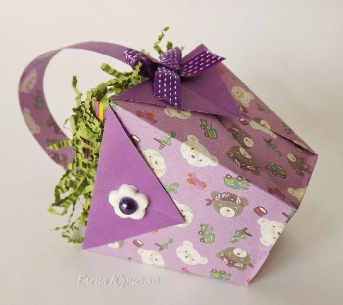 Складываем корзинку-оригами. Комментарии : LiveInternet - Российский Сервис Онлайн-Дневников