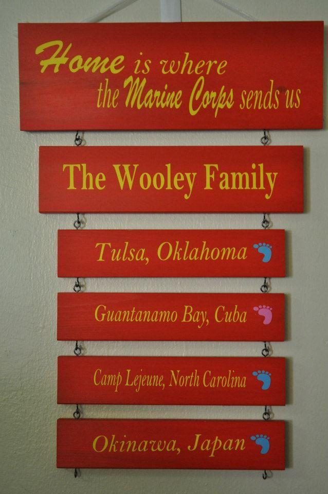 military duty station signs by craft giraffe wwwfacebook