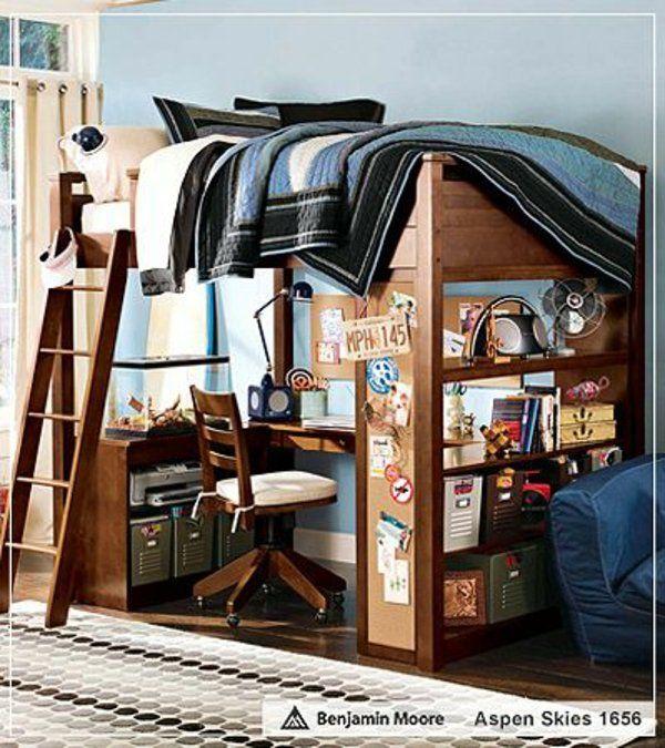 Holzmöbel Teenager-Schlafzimmer