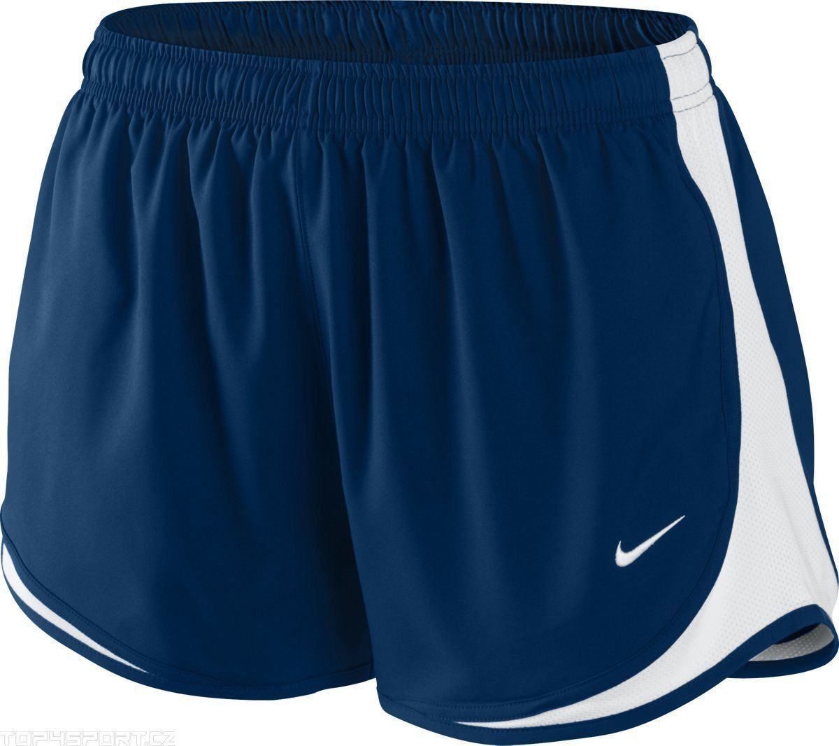 "Nike Navy Blue Original Tempo DriFit Women's 3"" Running"