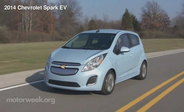 2014 Chevrolet Spark Ev Motorweek Mpt Hot Wheels Chevrolet