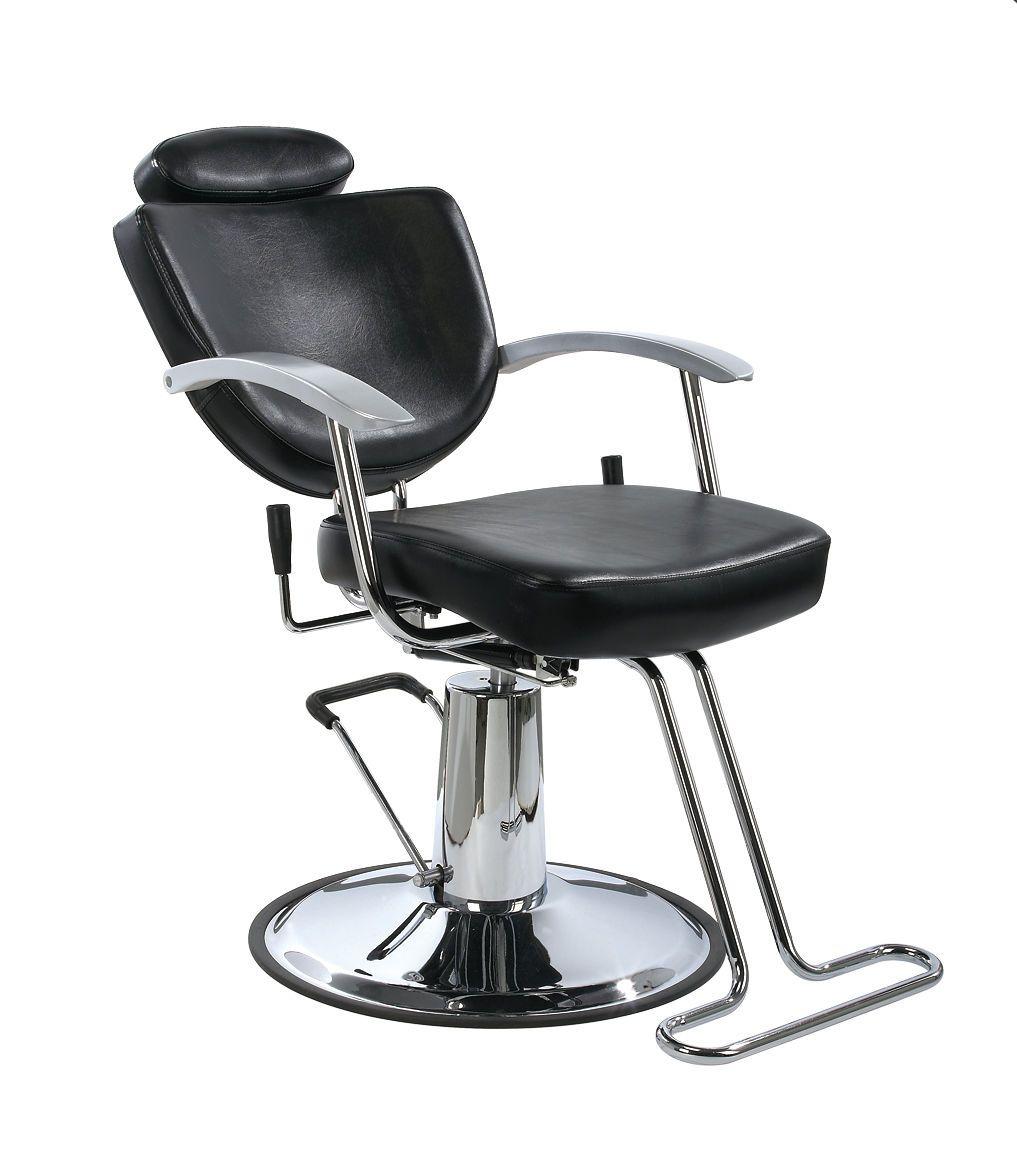 New Black Fashion All Purpose Hydraulic Recline Barber Salon Chair