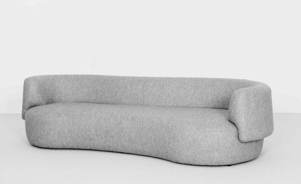 FAO sofa, design Christophe Delcourt | Upholstered sofa ...