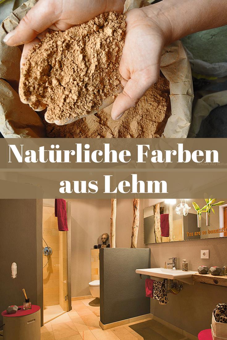 Lehmfarben | Tapeten & Wandfarben | Home remodeling, Sweet ...