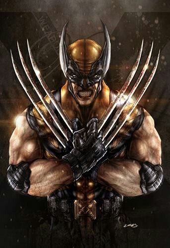 Marvel Wolverine art