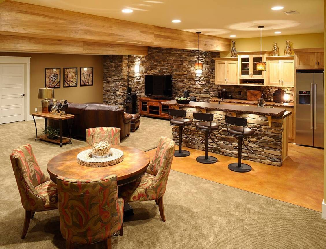 Bar Top Ideas Basement Decorating Ideas For Home Bars  House Style  Pinterest  Bar