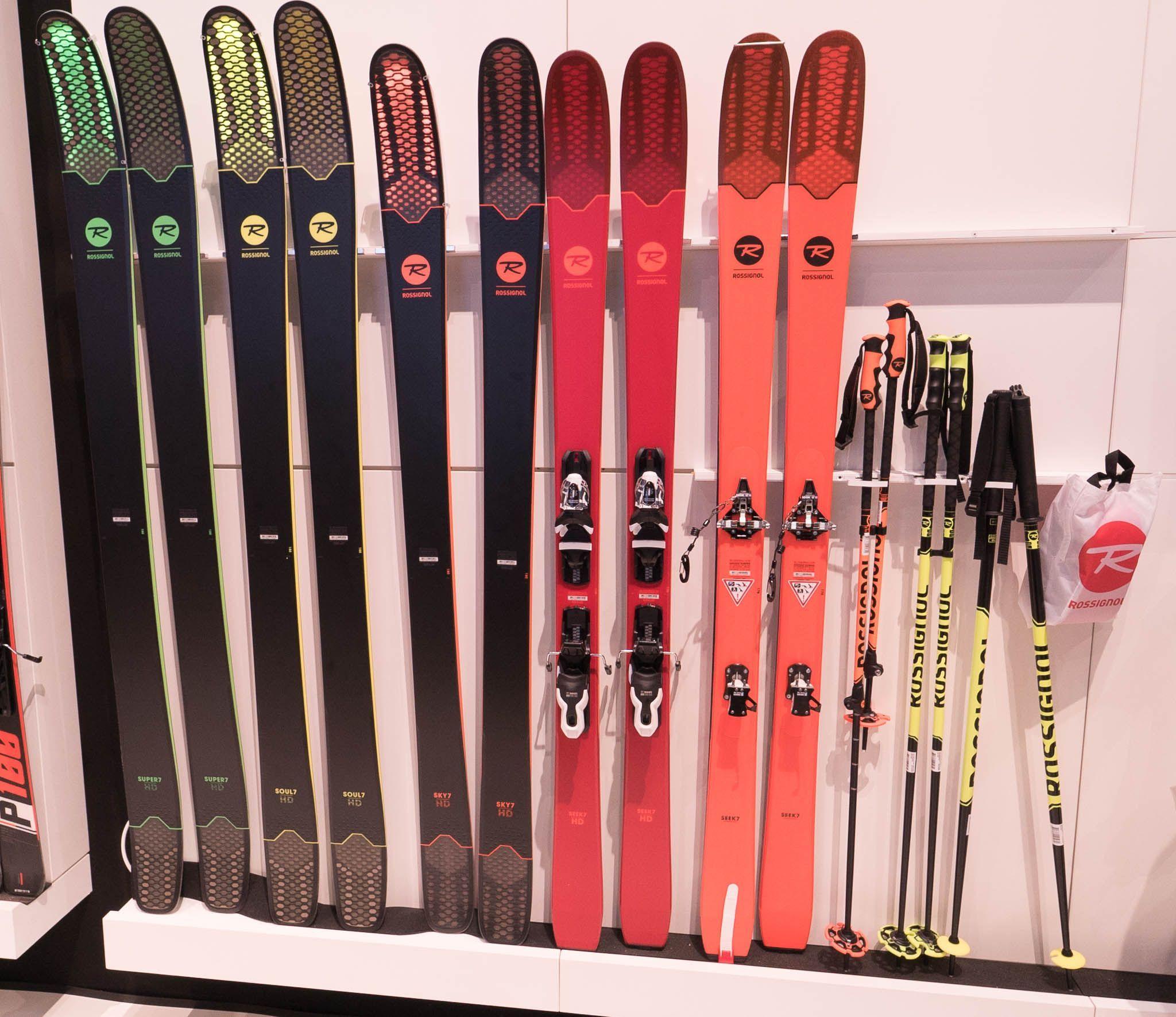 Ispo 2018 Rossignol Soul 7 Series Super 7 Hd Soul 7 Hd Sky 7 Hd Seek 7 Hd Seek 7 Skiingequipment Skiing Snowboarding Trip Ski Equipment
