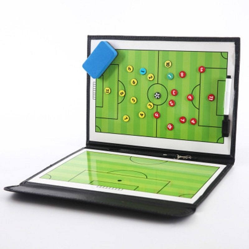 Find More Soccers Information About Foldable Magnetic Tactic Board Soccer Coaching Coach Tactical Board Football Game Portable Football Training Tactics Clipboa