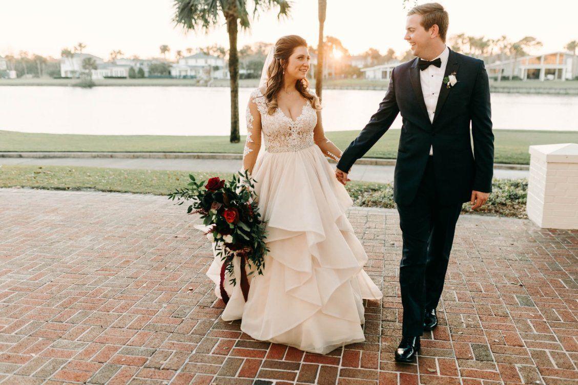Real martina liana bride hannah ben wedding blog christmas