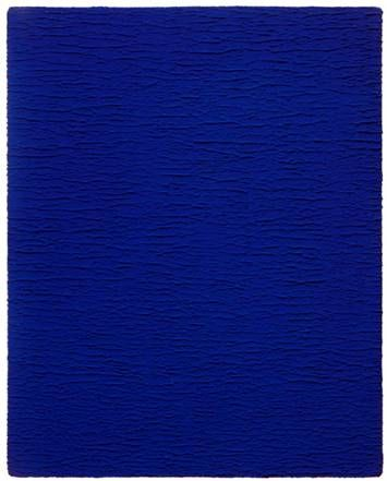 monochrome bleu sans titre 1959 yves klein 1928 1962 bleu klein ikb pinterest yves. Black Bedroom Furniture Sets. Home Design Ideas