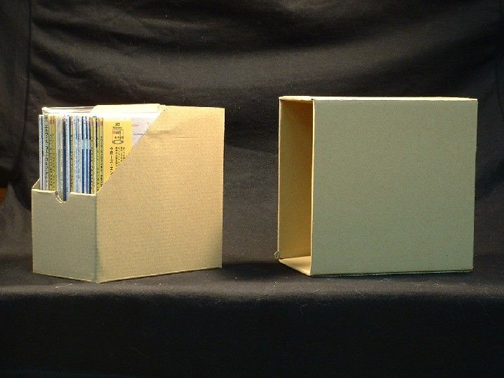 CD Cardboard Storage Box for Mini LP Paper Sleeve CDs Media - compact cd envelope template