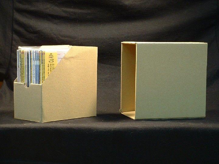 CD Cardboard Storage Box for Mini LP Paper Sleeve CDs