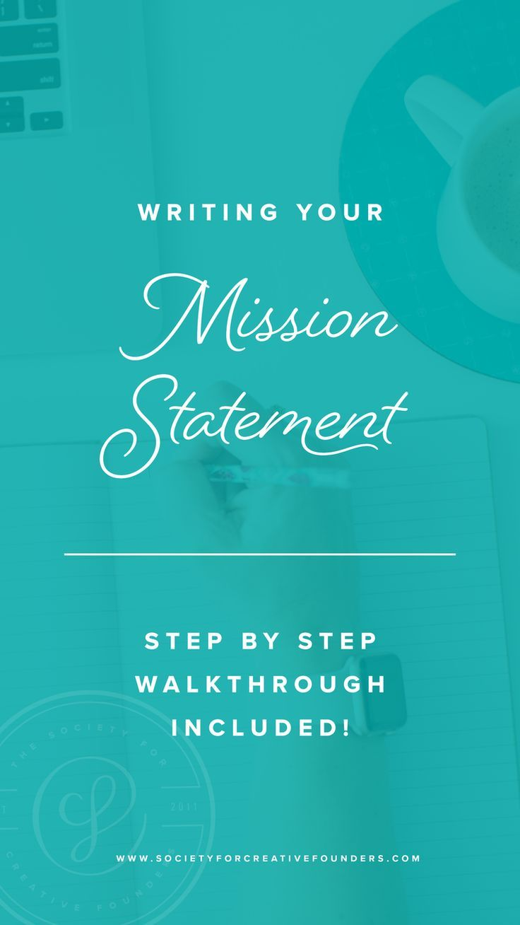 How to Write a Mission Statement Writing a mission
