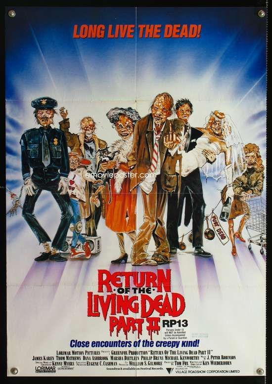 Pin By Lee Ann On Zombie Cinemareturn Of The Living Dead