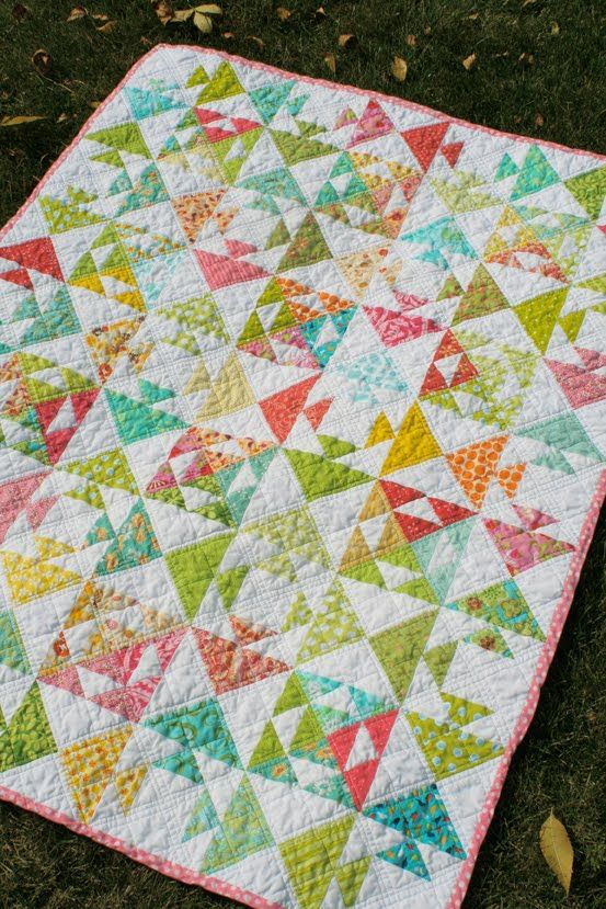 Free Quilt Pattern Quot Kissy Fish Baby Quilt Quot From Freshly