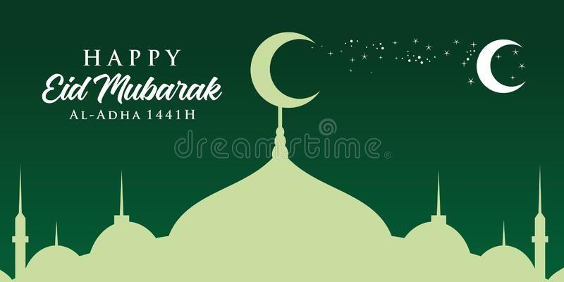 Happy New Hijri Year 1441 Vector Illustration Happy Islamic New Year Graphic D Sponsored Ad Ad Hij Happy Islamic New Year Islamic New Year Hijri Year