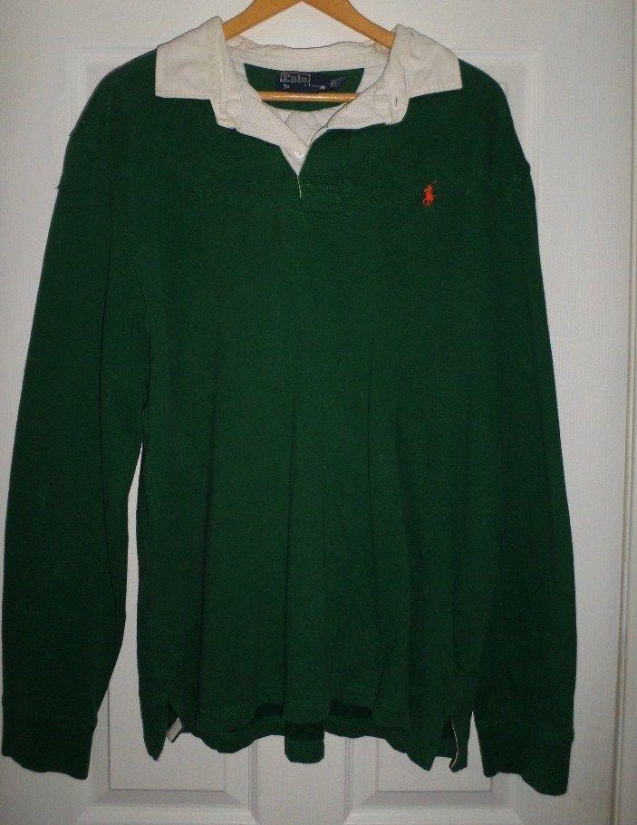 dark green ralph lauren shirt